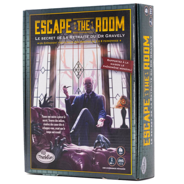 Escape The Room : Le Secret de la Retraite du Dr Gravety